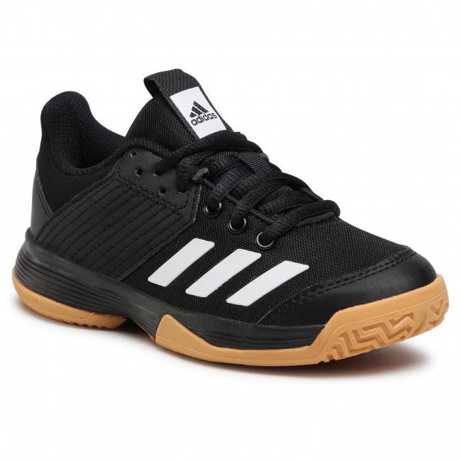 Topánky adidas - Ligra 6 Youth D97704 Cblack/Ftwwht/Gumm