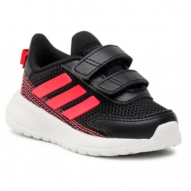 Topánky adidas - Tensaur Run I FW4137 Cblack/Sigpnk/Powpnk