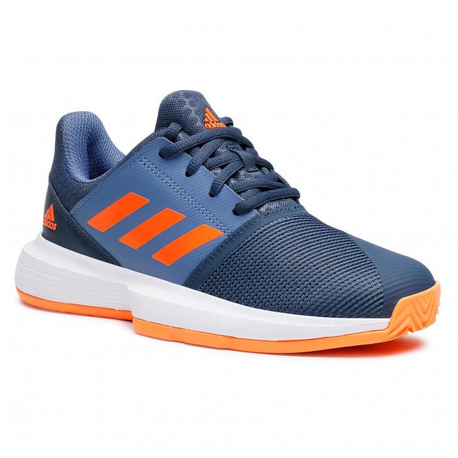 Topánky adidas - CourtJam xJ FX1491 Crenav/Scroba/Creblu
