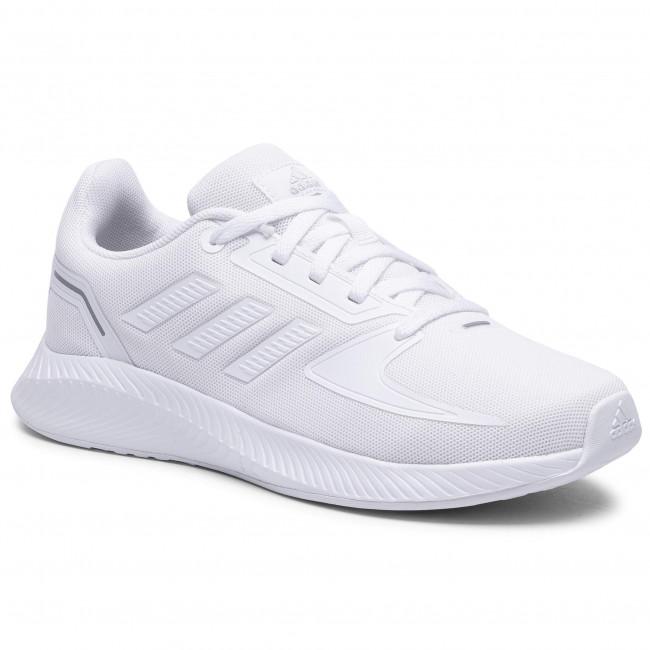 Topánky adidas - Runfalcon 2.0 K FY9496 Ftwwht/Ftwwht/Grethr