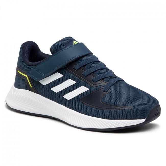 Topánky adidas - Runfalcon 2.0 C FZ0110 Crenav/Ftwwht/Legink