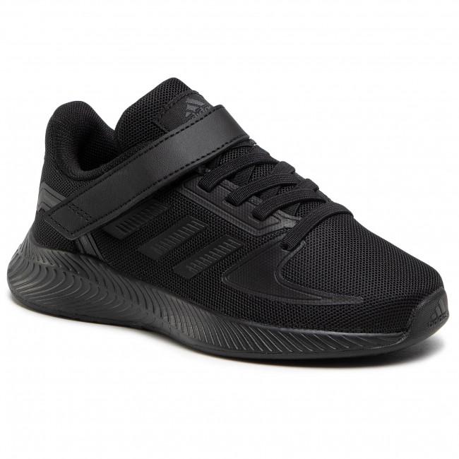 Topánky adidas - Runfalcon 2.0 C FZ0114 Cblack/Cblack/Gresix