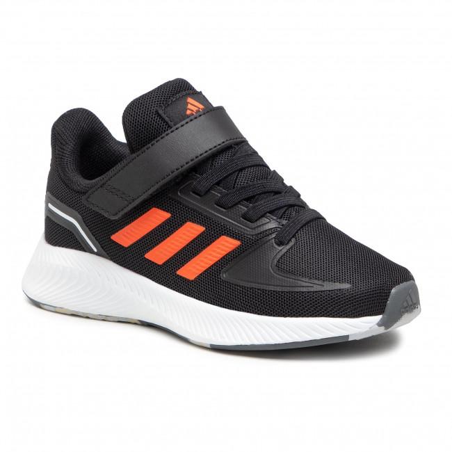 Topánky adidas - Runfalcon 2.0 C FZ0116 Cblack/Truora/Ftwwht