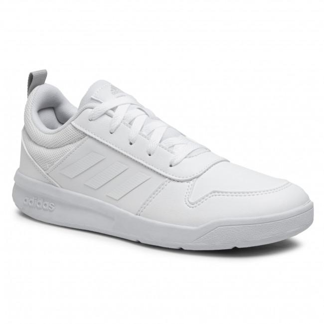 Topánky adidas - Tensaur K S24039 Ftwwht/Ftwwht/Gretwo
