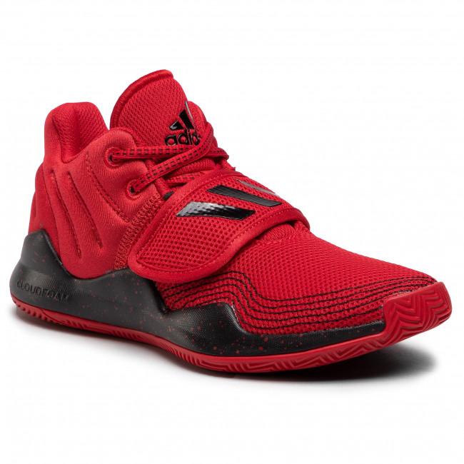 Topánky adidas - Deep Threat J FX3558 Scarle/Cblack/Scarle