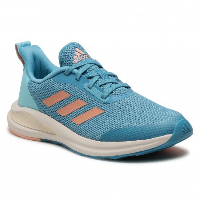 Topánky adidas - FortaRun K FY1333 Hazblu/Glopnk/Hazsky
