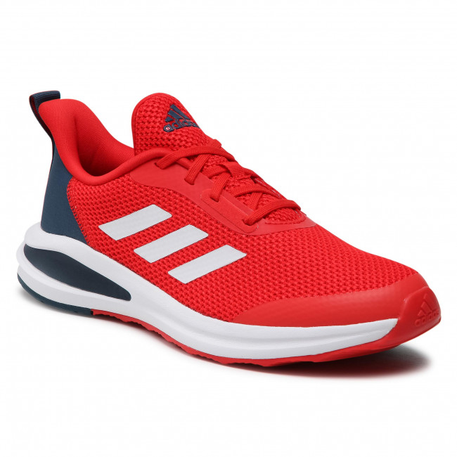 Topánky adidas - FortaRun K FY1337 Vivred/Ftwwht/Crenav