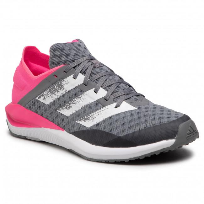 Topánky adidas - Faito J FY1621 Grethr/Ftwwht/Sopink