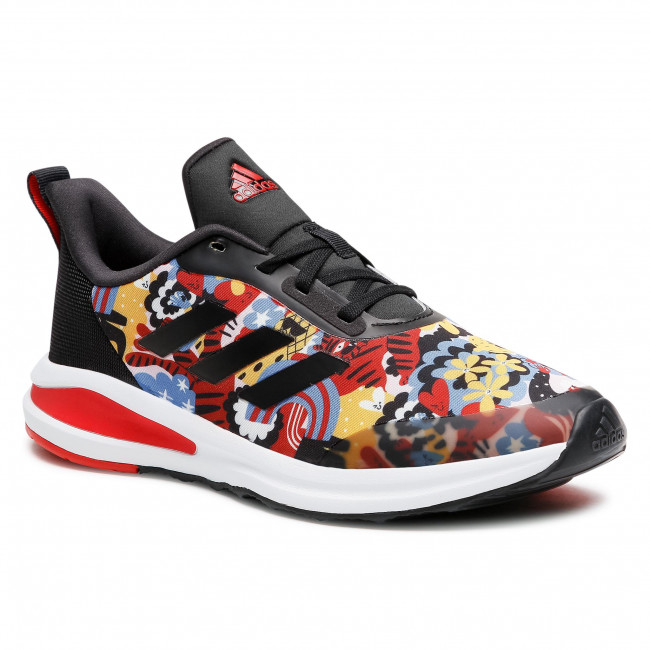 Topánky adidas - FortaRun Graphic K FY6986 Cblack/Ftwwht/Vivired