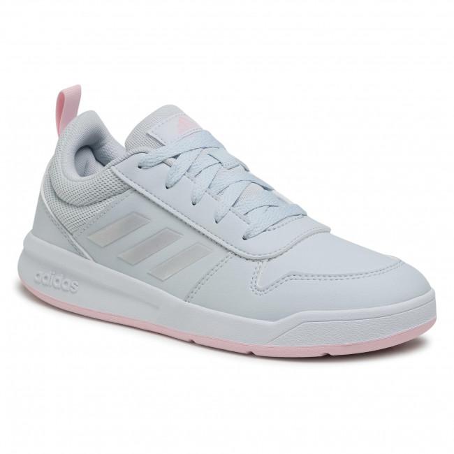 Topánky adidas - Tensaur K S24037 Halblu/Irides/Clpink