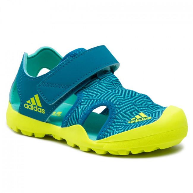 Sandále adidas - Captain Toey K FY9892 Acimin/Syello/Acttea