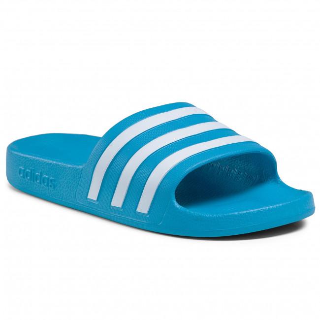 Šľapky adidas - adilette Aqua FY8047 Solblu/Ftwwht/Solblu