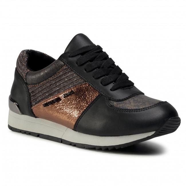 Sneakersy MICHAEL MICHAEL KORS - Zalliejett A-Brown Material