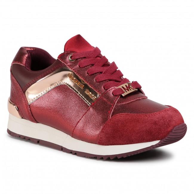 Sneakersy MICHAEL MICHAEL KORS - Zallietay Burgundy