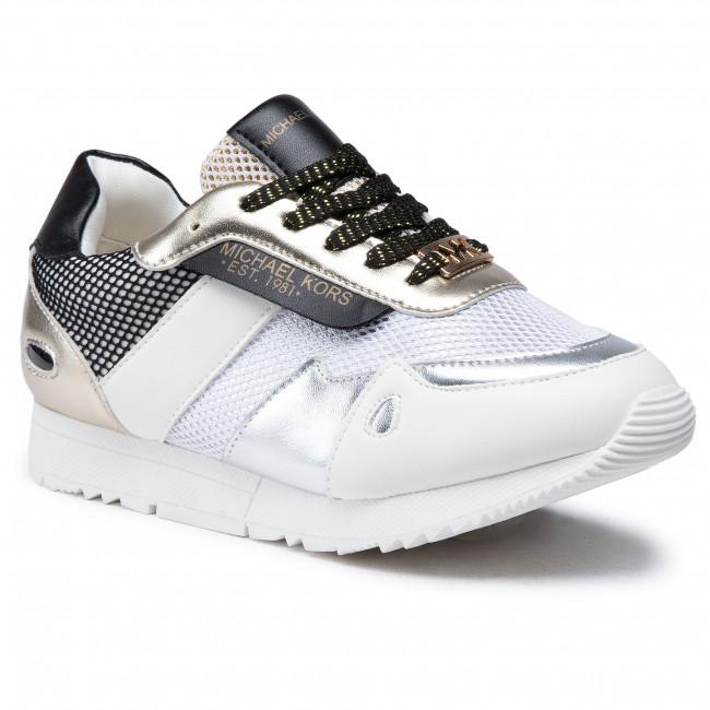 Sneakersy MICHAEL MICHAEL KORS - Zmonroeski White/Soft Gold