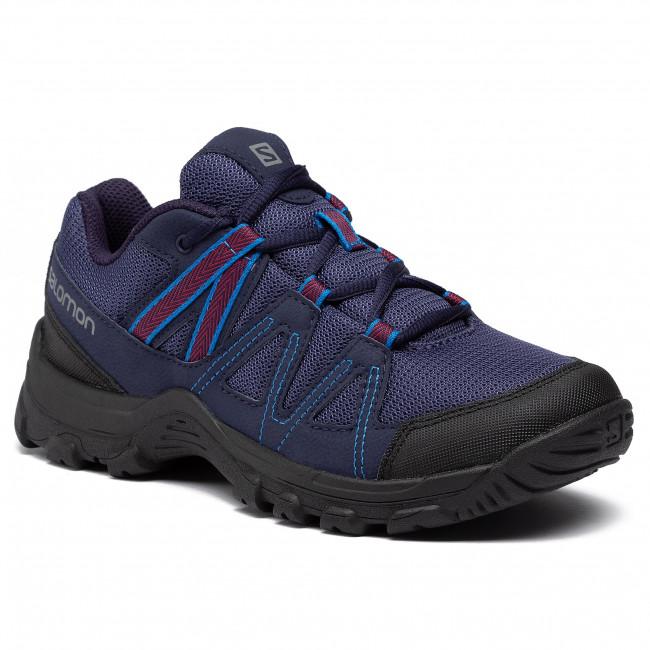 Trekingová obuv SALOMON - Deepstone W 408741 21 V0 Crown Blue/Evening Blue/Beet Red