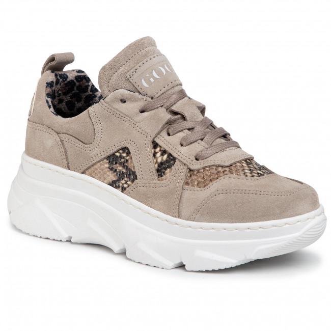 Sneakersy GOE - GG2N3117 Beige