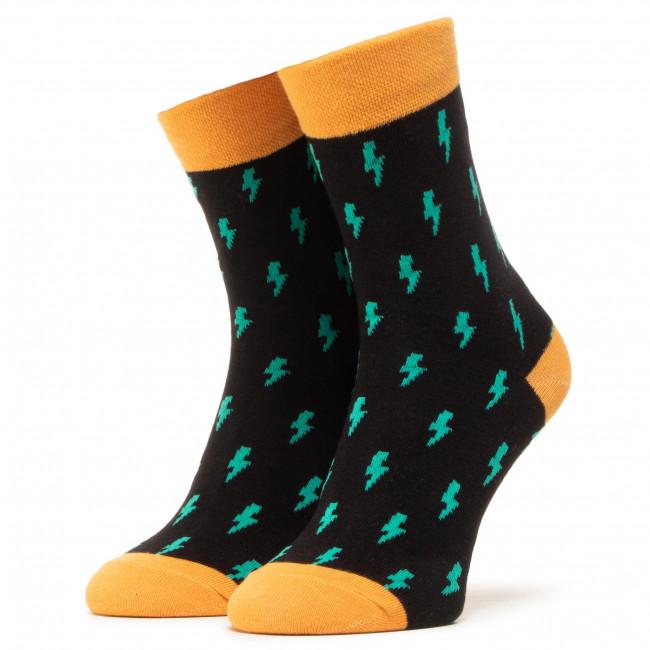 Ponožky Vysoké Unisex DOTS SOCKS - DTS-SX-406-C Čierna
