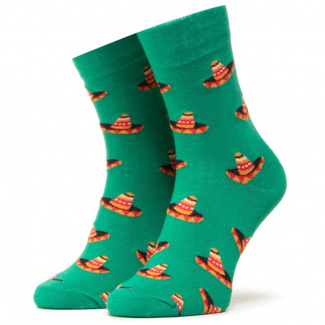 Ponožky Vysoké Unisex DOTS SOCKS - DTS-SX-431-Z Zelená