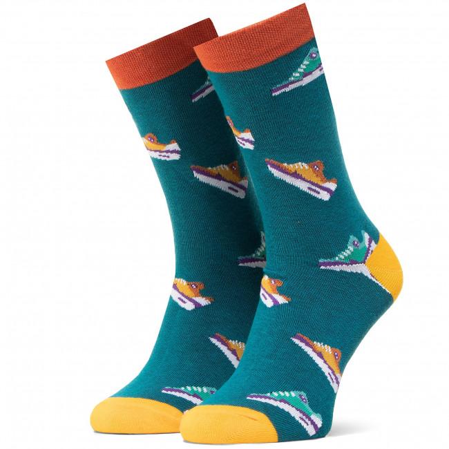 Ponožky Vysoké Pánske DOTS SOCKS - DTS-SX-451-G Farebná Zelená