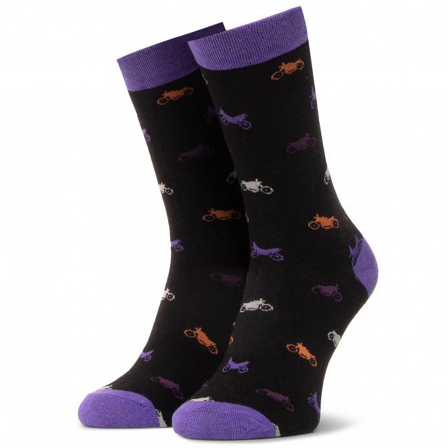 Ponožky Vysoké Pánske DOTS SOCKS - DTS-SX-453-C Čierna