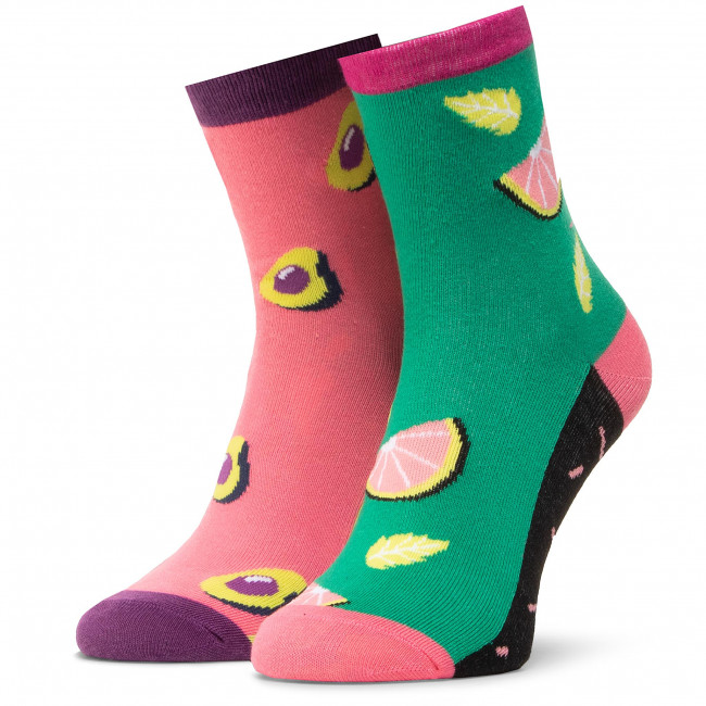 Ponožky Vysoké Unisex DOTS SOCKS - DTS-SX-463-Z Farebná