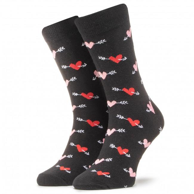 Ponožky Vysoké Unisex DOTS SOCKS - DTS-SX-492-C Čierna