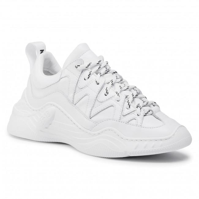 Sneakersy STOKTON - Warrios-D Vitello Bianco