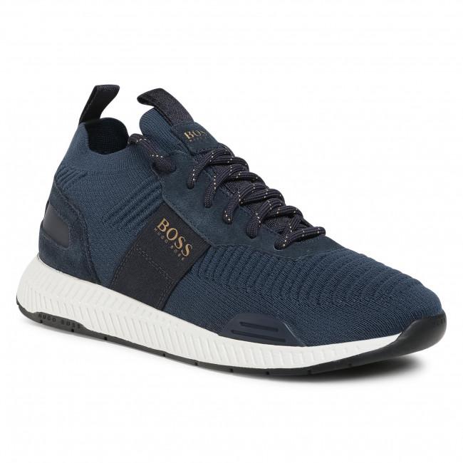 Sneakersy BOSS - Titanium 50414734 10220052 01 Dark Blue 407