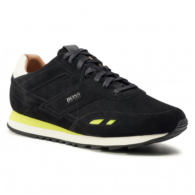 Sneakersy BOSS - Parkour 50439539 10214574 01 Black 001