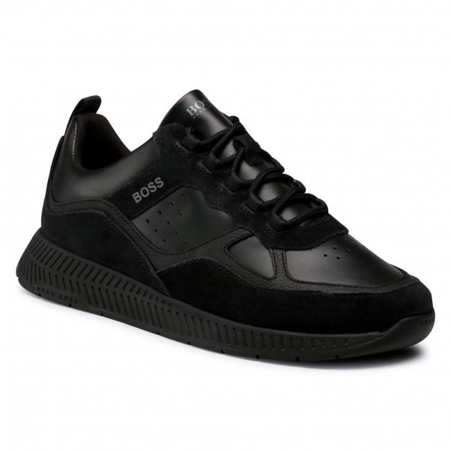 Sneakersy BOSS - Titanium 50440763 10214595 01 Black 001