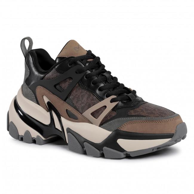 Sneakersy MICHAEL MICHAEL KORS - Nick 42F0PEFS1Q  Brown