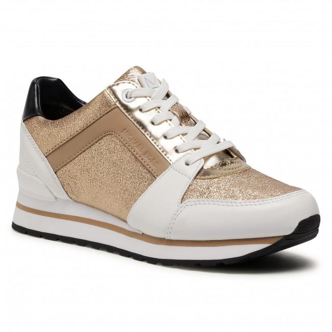 Sneakersy MICHAEL MICHAEL KORS - Billie Trainer 43F0BIFS1M  Pale Gold