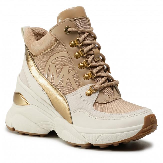 Sneakersy MICHAEL MICHAEL KORS - Spencer Trainer 43F0SPFS3D Camel