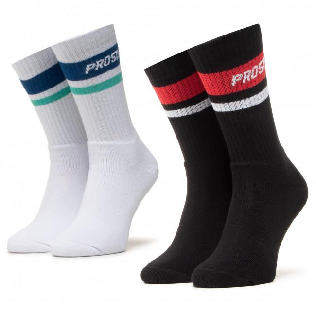 Súprava 2 párov vysokých ponožiek pánskych PROSTO. - 9101  Daflo Multi