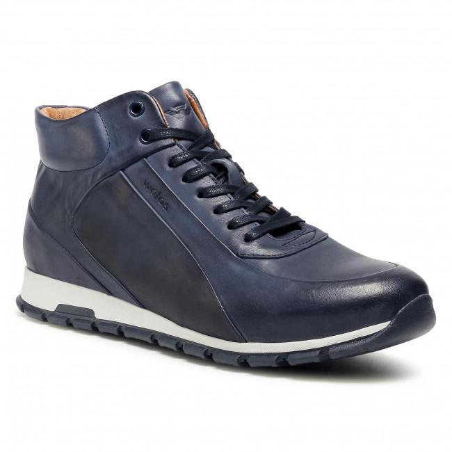 Sneakersy WOJAS - 91665-56 Tmavo modrá