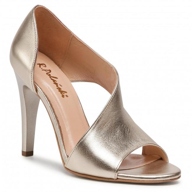 Sandále R.POLAŃSKI - 0720 Złoty Lico