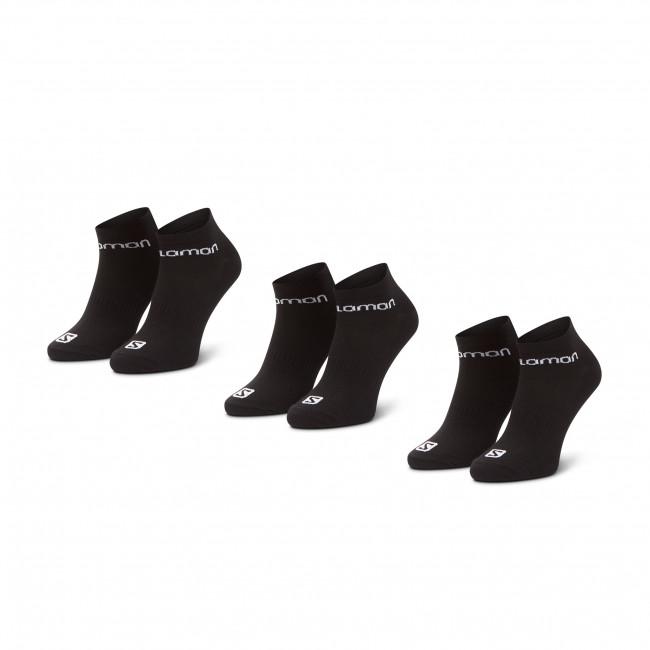 Súprava 3 párov kotníkových ponožiek pánských SALOMON - Live Low 3 Pack 09949 58 E0 Black