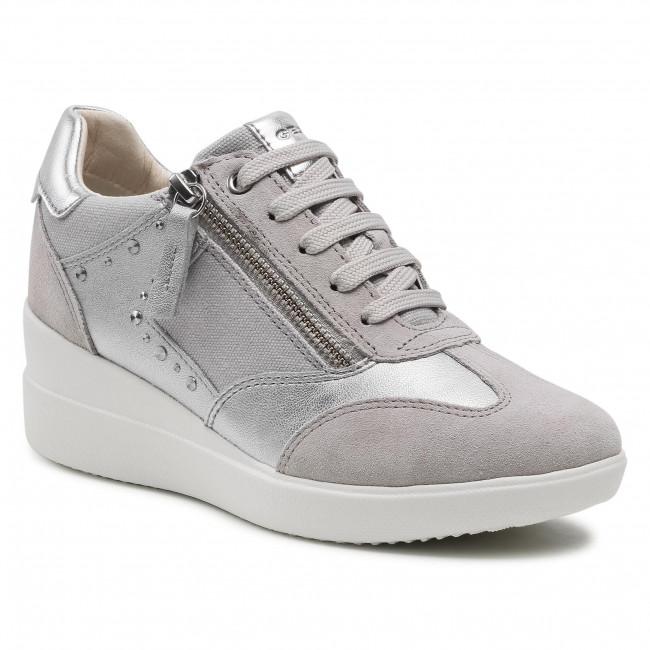 Sneakersy GEOX - D Stardust B D1530B 02210 C1010 Lt Grey