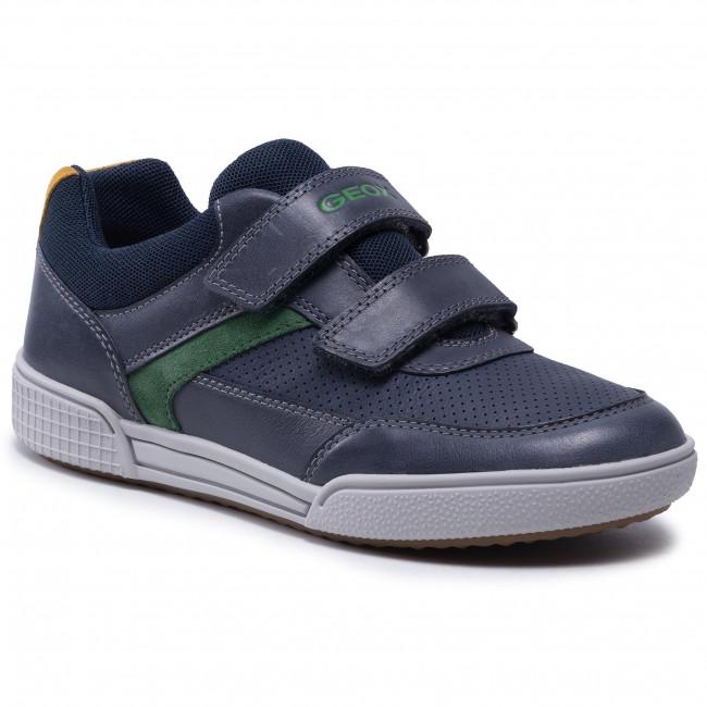 Sneakersy GEOX - J Poseido B. A J15BCA 0CLBU C4248 D Navy/Green