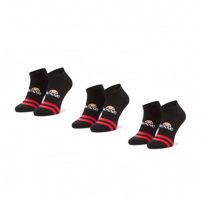 Súprava 3 párov kotníkových ponožiek pánských ELLESSE - Melna SAAC0876 Black