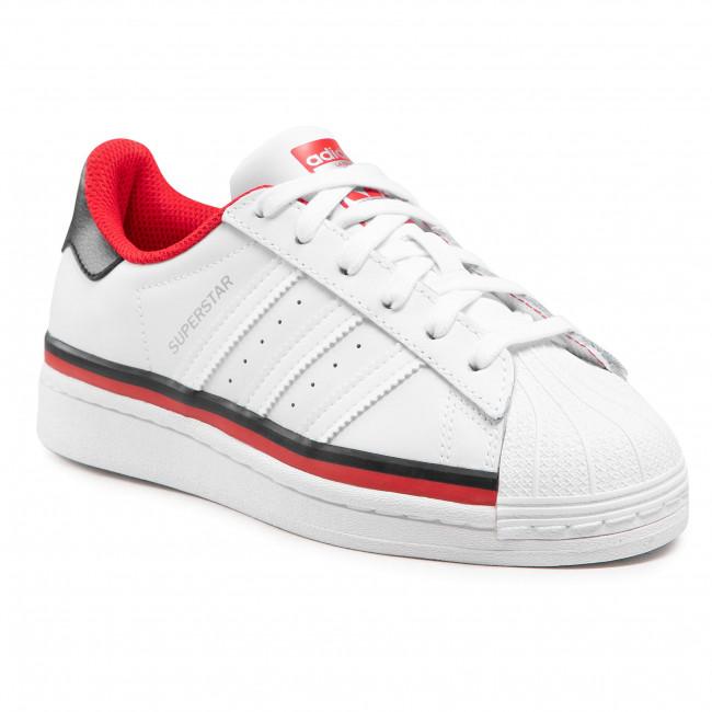 Topánky adidas - Superstar J FX5892 Ftwwht/Ftwwht/Cblack