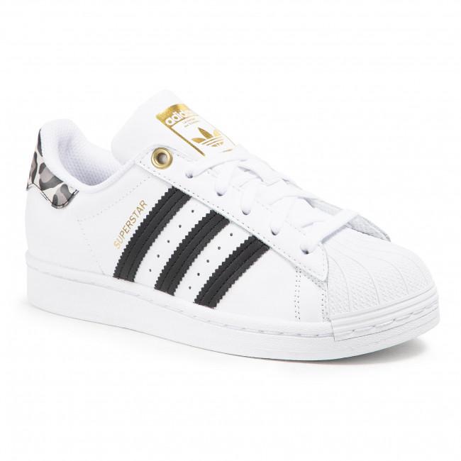 Topánky adidas - Superstar W FX6101 FtwwhtCblack/Goldmt
