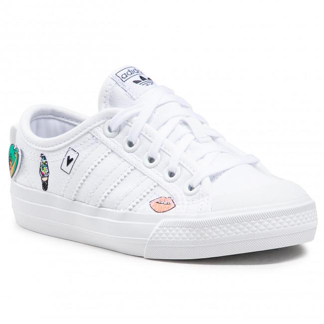 Topánky adidas - Nizza C FY3399 Ftwwht/Ftwwht/Ftwwht