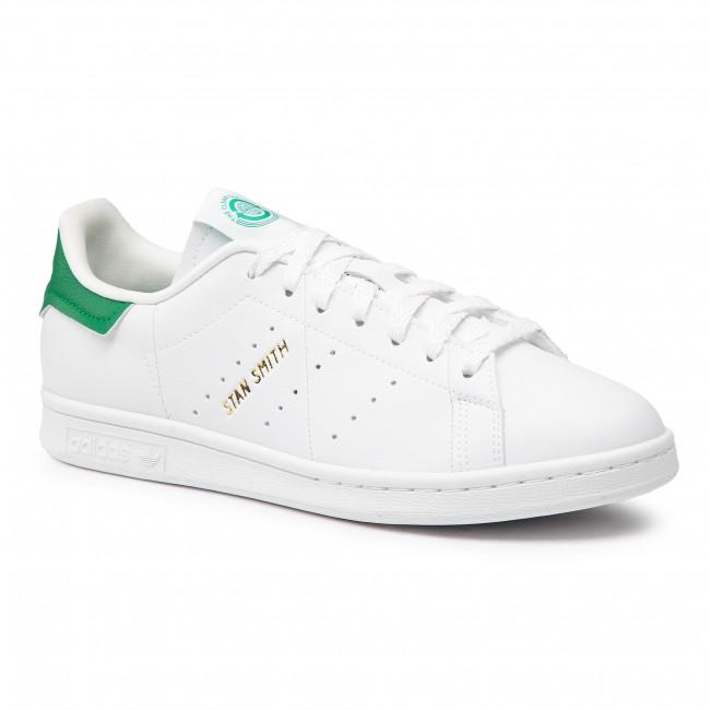 Topánky adidas - Stan Smith G58194   Ftwwht/Owhite/Green