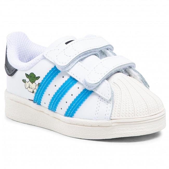 Topánky adidas - Superstar Cf I FZ0646 Ftwwht/Scarle/Cwhite