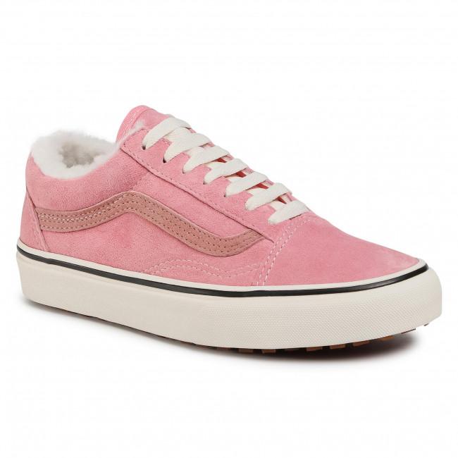 Tenisky VANS - Old Skool Mte VN0A348F2TJ1 (Mte) Nubuck/Flamingo Pink