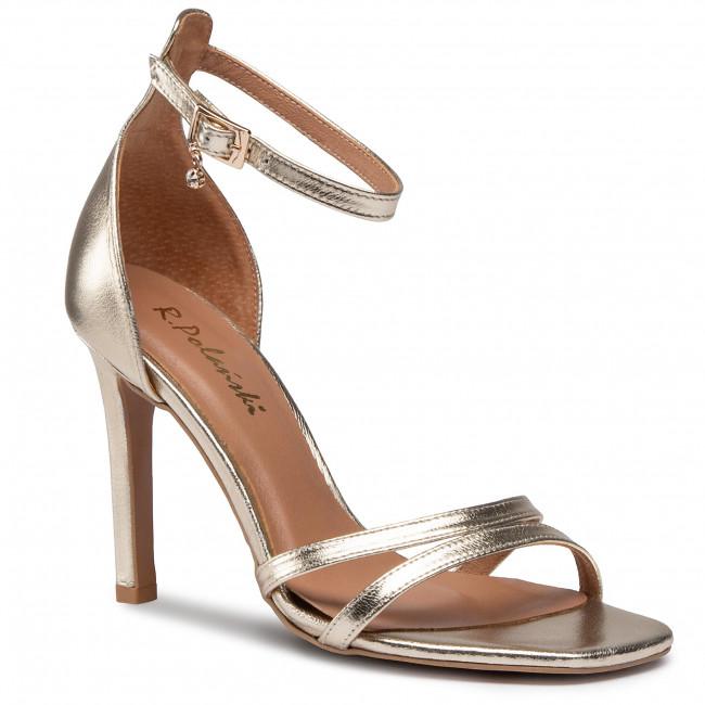 Sandále R.POLAŃSKI - 1187 Zlatá