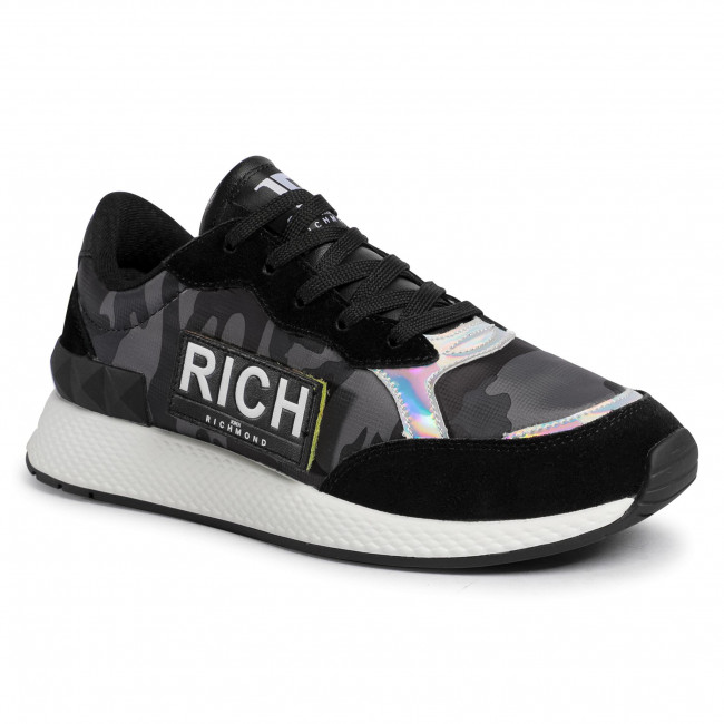 Sneakersy JOHN RICHMOND - 3120/CP B Black