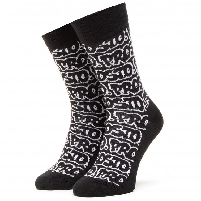 Ponožky Vysoké Unisex HAPPY SOCKS - PROSTO. SPST01-9100 Čierna